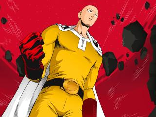 Saitama In One Punch Man wallpaper