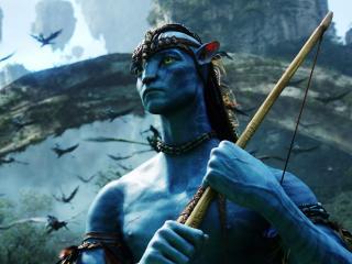 Sam Worthington as Jake Sully Avatar wallpaper