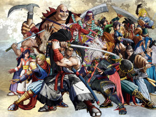 Samurai Shodown All Charcters wallpaper