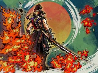 Samurai Warriors 5 Digital Art wallpaper