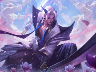 Samurai Yone League Of Legends 8K wallpaper