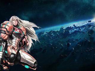 samus aran, metroid, girl wallpaper