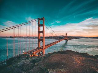 San Francisco Bridge Golden Gate wallpaper