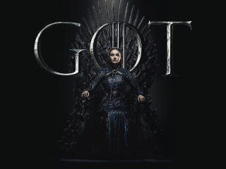 Sansa Stark Game Of Thrones Season 8 Poster wallpaper