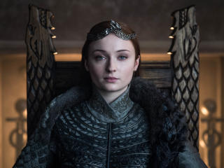 Sansa Stark Queen In The North wallpaper
