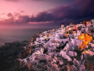 Santorini Island Greece wallpaper