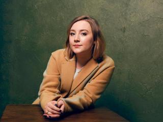 Saoirse Ronan Actress, Photo Session wallpaper