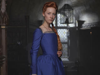 Saoirse Ronan as Mary in Mary Queen of Scots wallpaper