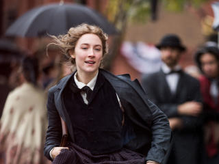 Saoirse Ronan in Little Women wallpaper