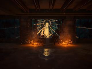 Saraphites Praying The Last of Us wallpaper