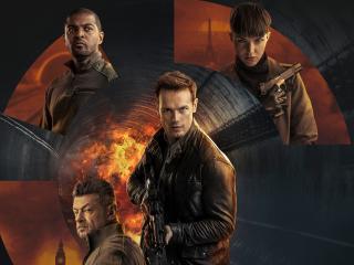 SAS: Red Notice Movie Poster wallpaper