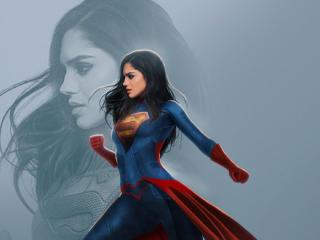 Sasha Calle as Supergirl wallpaper