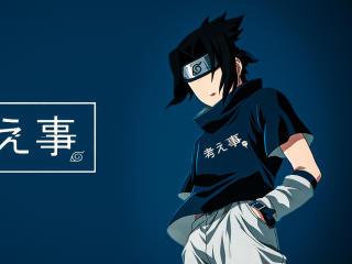 Sasuke Uchiha Digital Art wallpaper