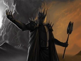 Sauron Lord Of The Rings wallpaper