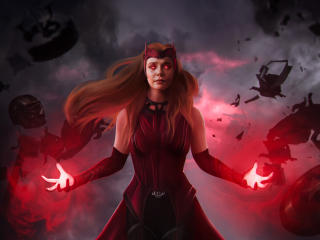 Scarlet Witch Full Power Mode wallpaper