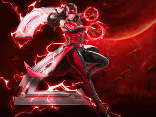Scarlet Witch Marvel Super War wallpaper