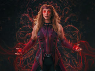 Scarlet Witch Wanda Vision Full Power wallpaper