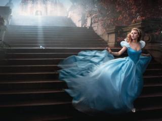 Scarlett Johansson as Cinderella wallpaper wallpaper