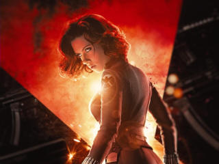 Scarlett Johansson Black Widow Movie Poster wallpaper