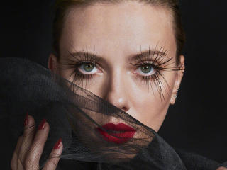Scarlett Johansson Black Widow Photoshoot wallpaper