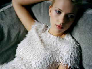 scarlett johansson, blonde, dress wallpaper