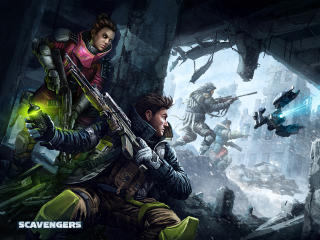 Scavengers Game Key Art wallpaper