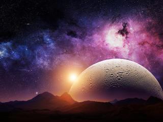 Sci Fi Landscape wallpaper