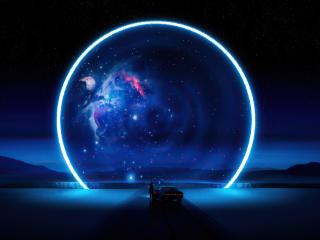 Sci-Fi Portal wallpaper