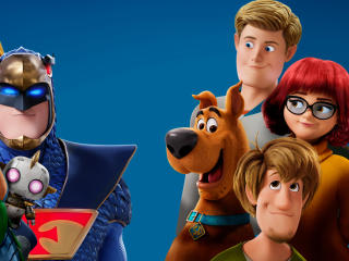 Scoob Movie Characters Poster wallpaper