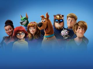 Scoob Movie Characters wallpaper