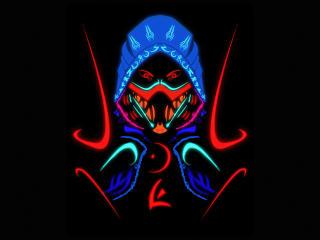 Scorpion Samurai Minimalist Mortal Kombat wallpaper