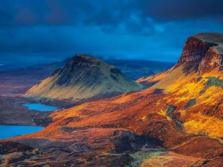 Scotland Beautiful Mountains Lake wallpaper