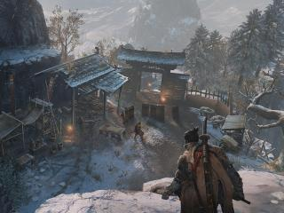 Sekiro Game Shadows Die Twice Samurai wallpaper