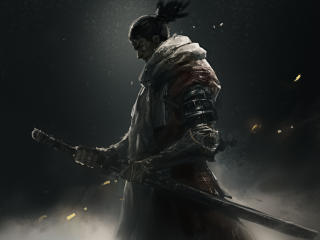Sekiro Shadows Die Twice Warrior wallpaper