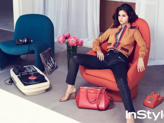 Selena Gomez 2017 Instyle Photoshoot wallpaper