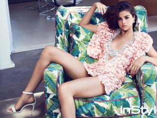Selena Gomez Instyle 2017 wallpaper