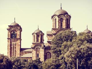 serbia, church, architecture wallpaper