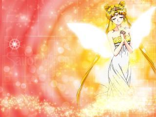 serenity, sailor moon tsukino usagi, girl wallpaper