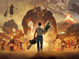 Serious Sam 4 Planet Badass wallpaper