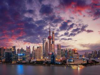 Shanghai City China wallpaper