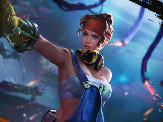 Shani Garena Free Fire 4K wallpaper