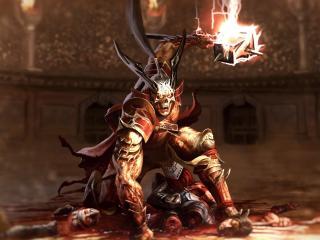 Shao Kahn Warrior Mortal Kombat 11 wallpaper