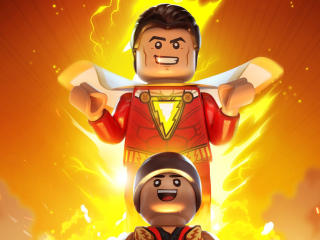 Shazam Lego wallpaper