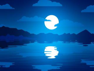 Shining Moon wallpaper