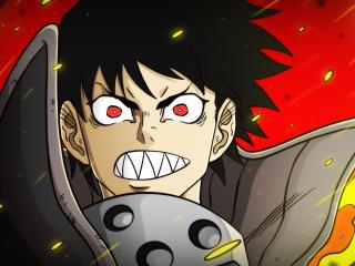 Shinra Kusakabe In Fire Force wallpaper