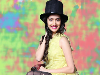 Shraddha In Cap  wallpaper