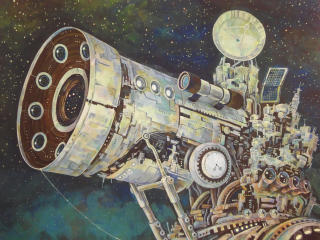 Si Fi Telescope wallpaper