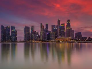 Singapore Nightscape wallpaper