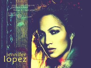 Singer Jennifer Lopez Art wallpaper