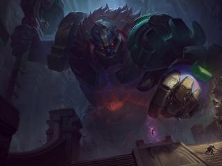 Sion Art New League Of Legends wallpaper